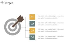 Target Ppt PowerPoint Presentation Model Maker