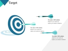 Target Ppt PowerPoint Presentation Model Portfolio