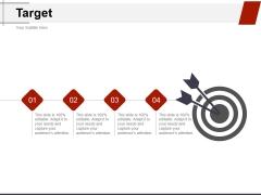 Target Ppt PowerPoint Presentation Model Styles