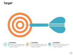Target Ppt PowerPoint Presentation Professional Format Ideas