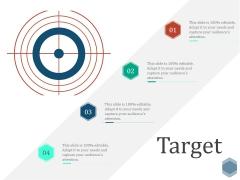 Target Ppt PowerPoint Presentation Slides Files