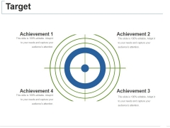 Target Ppt PowerPoint Presentation Styles Graphics Pictures