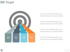 Target Ppt PowerPoint Presentation Summary Master Slide