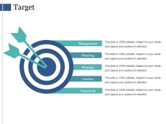 Target Ppt PowerPoint Presentation Summary Slide Download