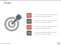 Target Ppt PowerPoint Presentation Visual Aids