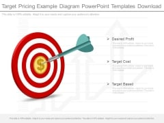 Target Pricing Example Diagram Powerpoint Templates Download