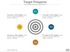 Target Prospects Ppt PowerPoint Presentation Professional