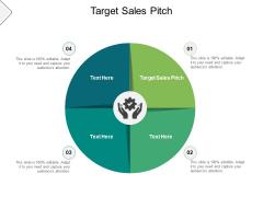 Target Sales Pitch Ppt PowerPoint Presentation Inspiration Master Slide Cpb