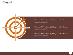 Target Template 2 Ppt PowerPoint Presentation Show