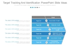 Target Tracking And Identification Powerpoint Slide Ideas