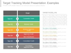 Target Tracking Model Presentation Examples