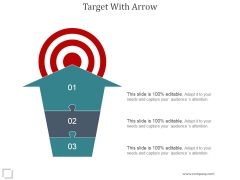 Target With Arrow Ppt PowerPoint Presentation Graphics