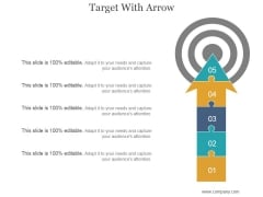 Target With Arrow Ppt PowerPoint Presentation Microsoft