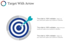 Target With Arrow Ppt PowerPoint Presentation Outline Layout