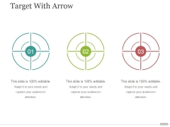 Target With Arrow Ppt PowerPoint Presentation Styles