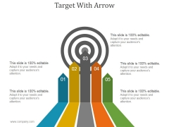 Target With Arrow Ppt PowerPoint Presentation Topics