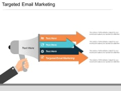 targeted email marketing ppt powerpoint presentation professional layouts cpb