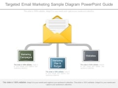 Targeted Email Marketing Sample Diagram Powerpoint Guide