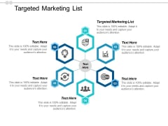 Targeted Marketing List Ppt PowerPoint Presentation Portfolio Deck Cpb