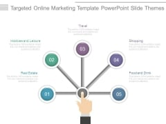 Targeted Online Marketing Template Powerpoint Slide Themes