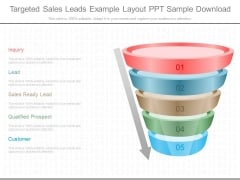 Targeted Sales Leads Example Layout Ppt Sample Download