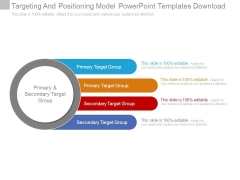 Targeting And Positioning Model Powerpoint Templates Download