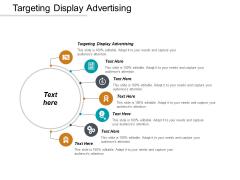 Targeting Display Advertising Ppt PowerPoint Presentation Slide Cpb