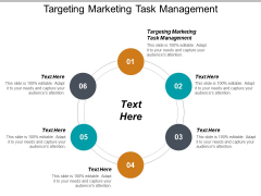 Targeting Marketing Task Management Ppt PowerPoint Presentation File Mockup Cpb