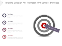 Targeting Selection And Promotion Ppt Samples Download