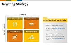 Targeting Strategy Ppt PowerPoint Presentation File Guide