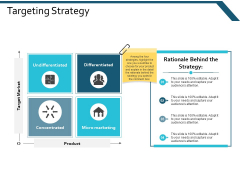 Targeting Strategy Ppt Powerpoint Presentation File Information