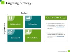 Targeting Strategy Ppt PowerPoint Presentation Summary Gridlines