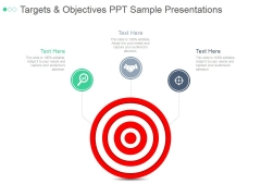 Targets And Objectives Ppt PowerPoint Presentation Introduction