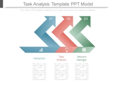 Task Analysis Template Ppt Model