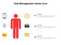 Task Management Vector Icon Ppt PowerPoint Presentation File Objects PDF