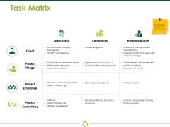 Task Matrix Ppt PowerPoint Presentation Slides
