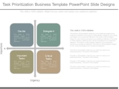 Task Prioritization Business Template Powerpoint Slide Designs
