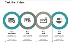 Task Reminders Ppt PowerPoint Presentation Infographics Summary Cpb