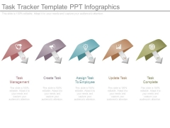 Task Tracker Template Ppt Infographics