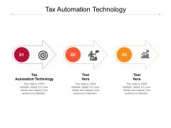 Tax Automation Technology Ppt PowerPoint Presentation Outline Portfolio Cpb Pdf