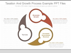 Taxation And Growth Process Example Ppt Files