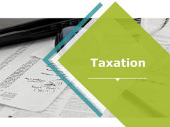 Taxation Ppt PowerPoint Presentation Infographics Graphics Example