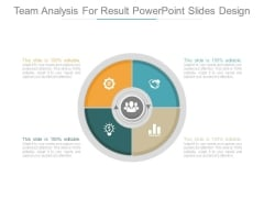 Team Analysis For Result Powerpoint Slides Design