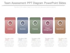 Team Assessment Ppt Diagram Powerpoint Slides