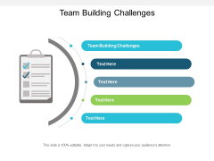 Team Building Challenges Ppt PowerPoint Presentation Summary Visual Aids
