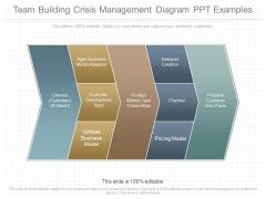 Team Building Crisis Management Diagram Ppt Examples