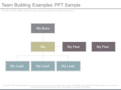 Team Building Examples Ppt Sample