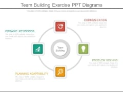 Team Building Exercise Ppt Diagrams