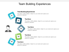 Team Building Experiences Ppt PowerPoint Presentation File Infographics