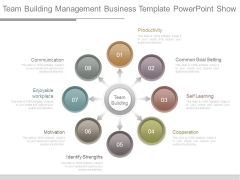 Team Building Management Business Template Powerpoint Show